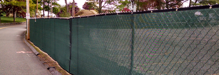 Driven Temporary Chain Link Fence Newquality Fence Corp