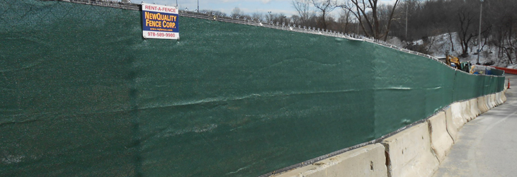 Jersey Barrier Temporary Chain Link Fence Newquality